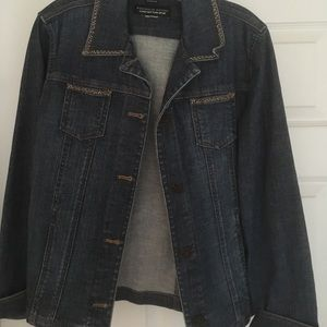 Jones New York sport denim jacket