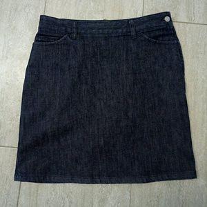 Banana Republic Chambray Pencil Skirt Size 6