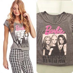 Barbie Tops - Barbie On Wednesday We Wear Pink Tee