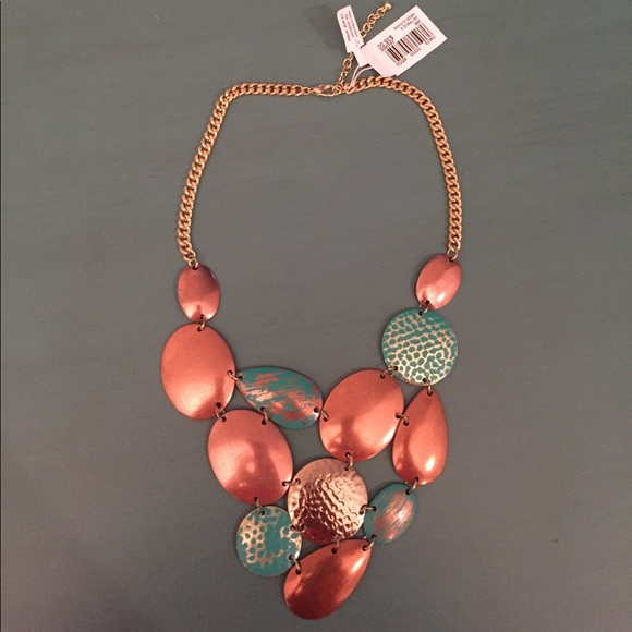 49 off macy 39 s jewelry turquoise and copper colored for Turquoise colored fashion jewelry