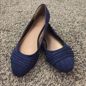 ollio Shoes - Navy blue flats