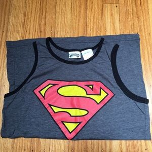 Other - New Superman Tank Top