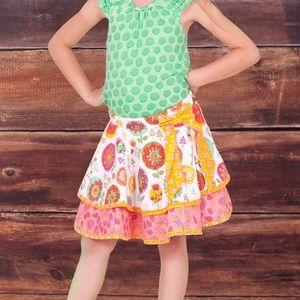 Jelly pug fiorito claire skirt set  sz 10
