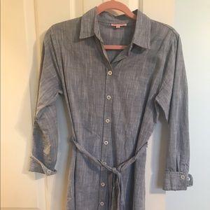 Kayce Hughes Dresses & Skirts - Kayce Hughes Chambray Shirt Dress