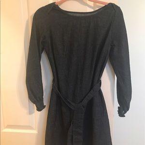 Kayce Hughes Dresses & Skirts - Kayce Hughes Denim Shift Dress