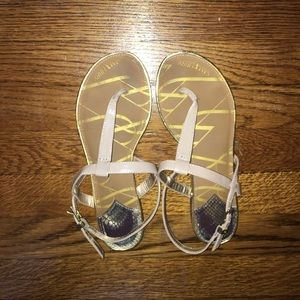 Sam & Libby Shoes - Sam and Libby nude sandals