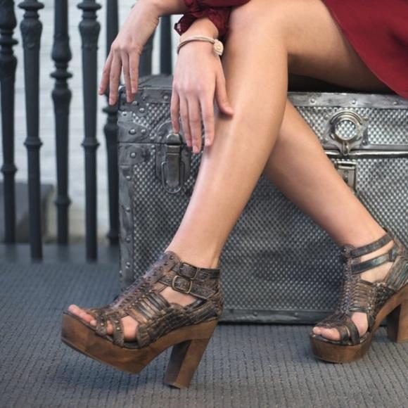 5e8151998641 Bed Stu Shoes - BedStu Cindy Wedges--Tan never been worn!