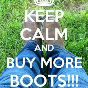 Life is short. Buy the boots!