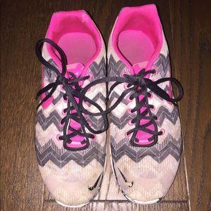Nike Shoes - Nike Chevron Running Shoes (pink) Size 7 1/2