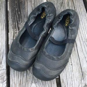 Keen Shoes - 🆕List! Keen Black Leather Mary-Jane Flats! EUC!