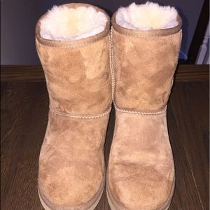 Classic Short Uggs in Chestnut Color