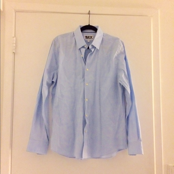 71 off express other extra slim fit light blue dress for Extra slim dress shirt