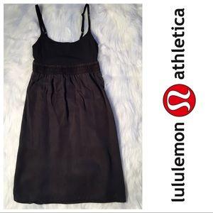 lululemon athletica Dresses & Skirts - Lululemon Bliss tank dress in charcoal grey