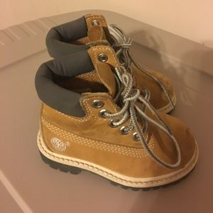 Timberland Other - Tan Timberland Toddler shoes size 5
