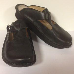 Alegria Shoes - Alegria by PG Lite black clogs 39