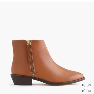 J. Crew Shoes - J. Crew Frankie ankle boots in leather