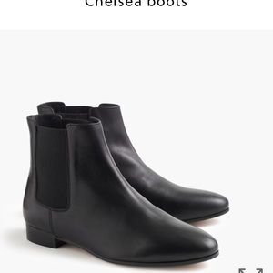 J. Crew Shoes - J. Crew Chelsea boots in black leather