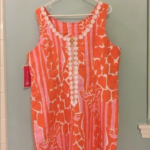 NWT Lilly Pulitzer Target Giraffeeey Shift Dress