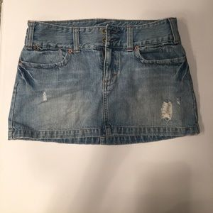 American Eagle Outfitters Dresses & Skirts - American Eagle Blue Jean Mini Skirt