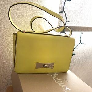 < Kate Spade> yellow bow tie shoulder bag