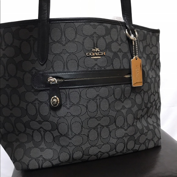 707a2cc4695e ... switzerland 54 off coach handbags coach taylor tote in signature  jacquard from noah39 ccea7 229a9