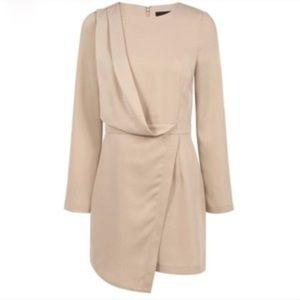 blaque label Dresses & Skirts - BLAQUE LABEL Long Sleeve Nude Dress XS