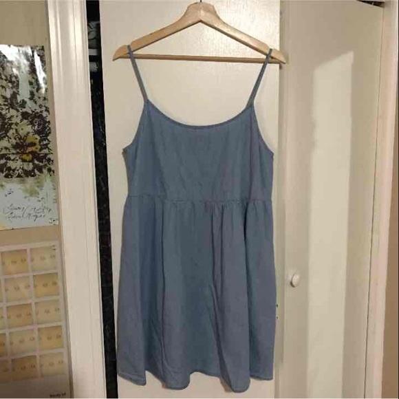 ad8007205a American Apparel Dresses   Skirts - American apparel denim babydoll dress
