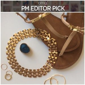 Jewelry - | PM EDITOR PICK & HP | gold collar necklace |