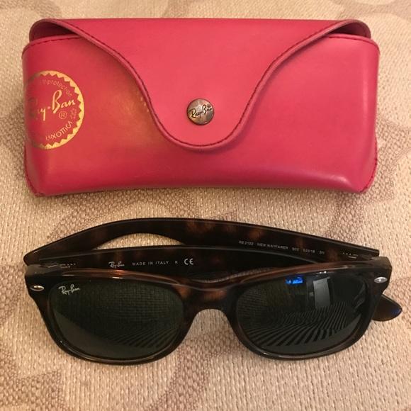 6c1321474c NWT Ray-Ban New Wayfarer Sunglasses Tortoise Shell
