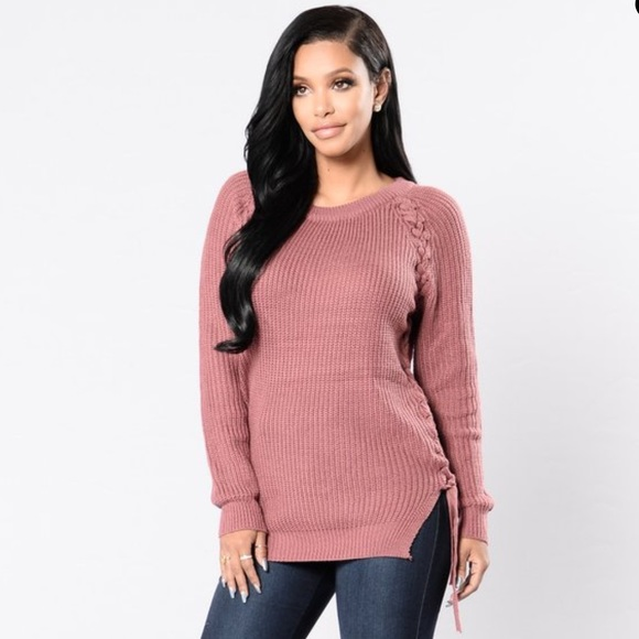 cbf14b1d7b3 Fashion Nova Sweaters - ❗️SALE❗️Fashion nova mauve pink sweater