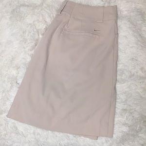 Nike Dresses & Skirts - Nike Golf Dri Fit Tan Fit Dry Skort