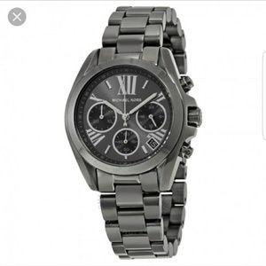 Michael Kors Accessories - Michael Kors Gunmetal Grey  Chronograph 36mm watch