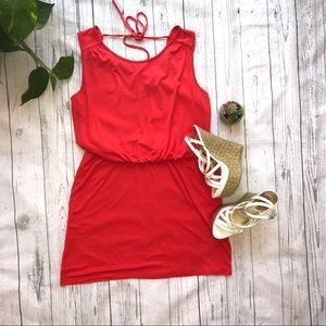 Red Dress By Loft