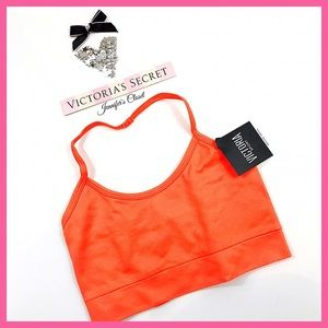 •Victoria's Secret•Strappy Back Halter Sports bra