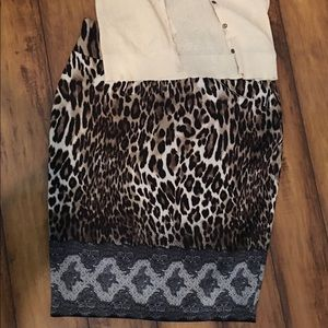 Dresses & Skirts - THALIA LADIES ANIMAL PRINT SKIRT