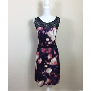 Adrianna Papell Dresses & Skirts - {Adrianna Papell} Abstract Watercolor Dress