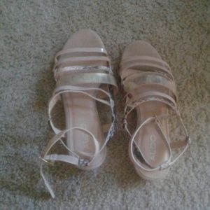 Aldo Shoes - Nude sandals