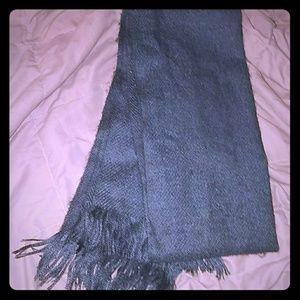 Accessories - *Gray Warm Wool Scarf*
