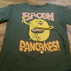 Adventure Time Other - Adventure time bacon packages boys xl tshirt