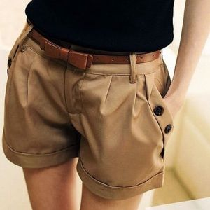 Pants - 💧New Item-NWT Khaki Twill Shorts