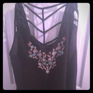 Mine Too Tops - Black mine too blouse