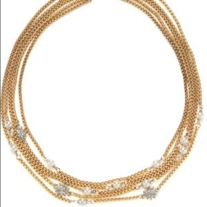 Amrita Singh Jewelry - Gold silver and pearl necklace