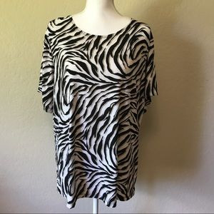 JM Collection Tops - JM shirt sleeves top