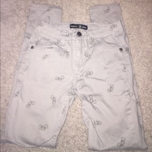 Imperial Star Other - So CUTE Olive Green Bicycle Skinny Pants Size 10
