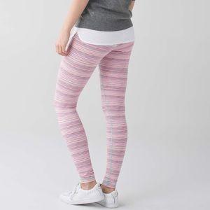 lululemon athletica Pants - {lululemon} cyber stripe wunder under leggings