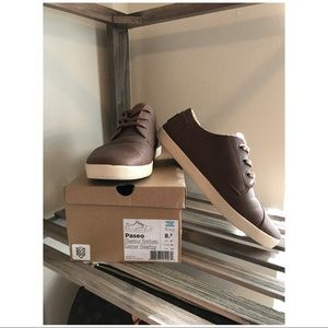 TOM'S :: Leather Paseos :: Chestnut