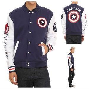 Hot Topic Other - (Men's Medium) Captain America Jacket