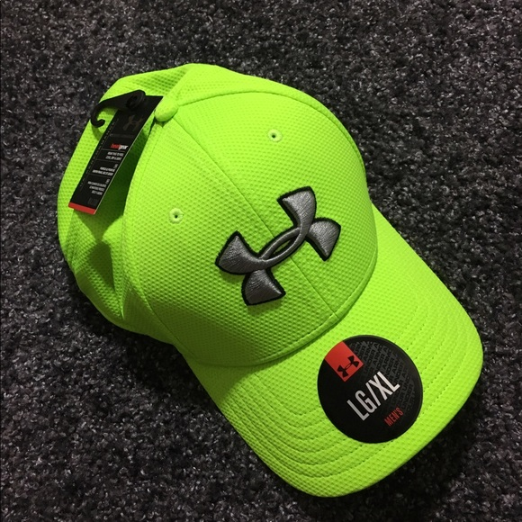 Lime Green Under Armour Hat 18ff182514f