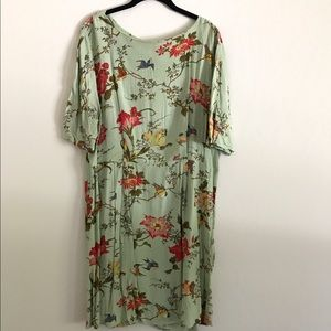 ASOS patterned wiggle dress.
