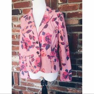 CAbi 804 Rose Garden Fitted Blazer Jacket 8
